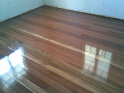 Beautiful timber floors