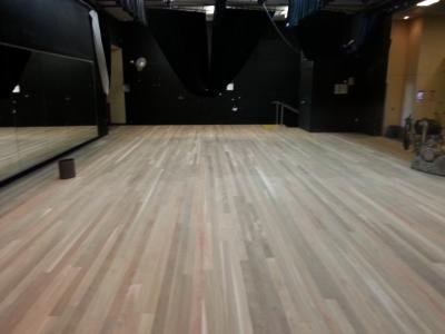 Floor sanding and Preparation school stage High School Brisbane
