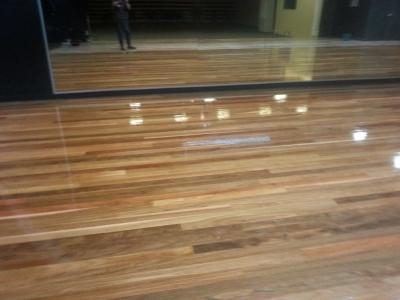 School stage Coating polishing Gold Coast